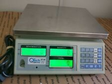 QTECH EZ-60 COIN COUNTING SCALE FAST 1 BUTTON COUNT 60 LB CAPACITY USED