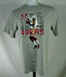 "San Francisco 49ers NFL Team Apparel Boy's Grey ""Colin Kaepernick"" T-Shirt"