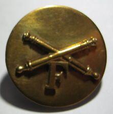 WW2 Artillery Collar Disk - Odd  *AMCRAFT METAL* Marked - SB
