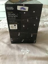 White LED Solar String Lights