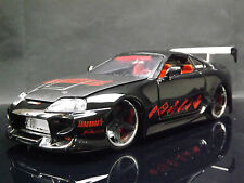 Jada Import Racer 1:24 Toyota Supra JDM Sports Car Replica Model tuner