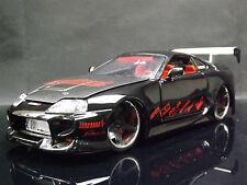Jada Import Racer 1:24 Toyota Supra JDM Sports Car Replica Model tuner