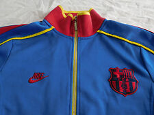 Nike FCB FC Barcelona Track Jacket Warm Up Coat Blue S Small