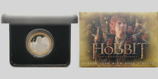 2012 THE HOBBIT 1 OZ SILVER PROOF  COIN NEW ZEALAND!!!! RARE