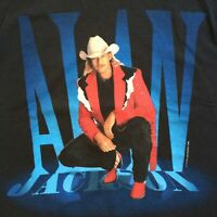 Vintage 1995 Alan Jackson black short sleeve tour t-shirt Unisex Adult S-4X B403