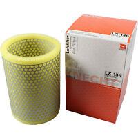 Original MAHLE / KNECHT Luftfilter LX 136 Air Filter