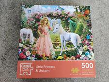 Little Princess & Unicorn 500 Pieces Jigsaw Puzzle Corner Piece Puzzles
