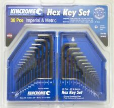 KINCROME 30 Pcs Hex Key Set Imperial & Metric HKW30