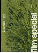 FILM SPECIAL N. 3 OTTOBRE DICEMBRE 1970 TERRA: MADRE E DIVA RIVISTA CINEMA