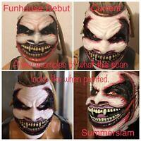 The Fiend Bray Wyatt Custom Mattel Elite Head Cast Painted FOR ACTION FIGURES