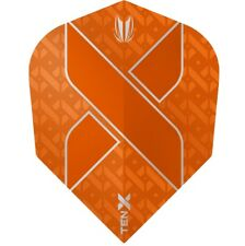 TARGET TEN-X VISION ULTRA ORANGE SMALL STANDARD SHAPE FLIGHTS