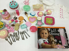 American Girl Kitchen Dining Set Lot