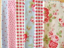 Cath Kidston Fabric Fat Quarters Patchwork Quilting Squares Cotton FQ 50cm SALE!