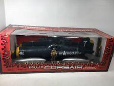 1/18 21ST CENT MOTORWORKS ULT SOLDIER XD US NAVY F-4U CORSAIR FIGHTER PLANE WW2