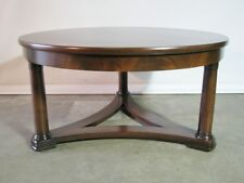 Vintage Baker Furniture Empire Gueridon Style Coffee Table; Newly Restored