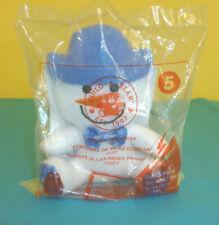 McDonald's Happy Meal Toy Build A Bear #5 Smiley Snowman NIP