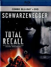 NEW BLU RAY + DVD- Total Recall: Ultimate Rekall Edition - Arnold Schwarzenegger