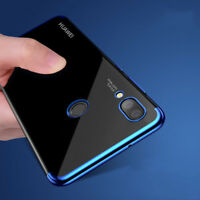 Pr Huawei P20 Pro / LITE HOUSSE + VITRE EN VERRE TREMPE ETUI COQUE SILICONE GEL