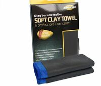 Clay Cloth Towel Car Cleaning Bar Detailing Wash Microfiber Mitt Auto Fine Truck