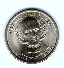 2008-D $1 Martin Van Buren Brilliant Uncirculated 8TH Presidential Dollar Coin!