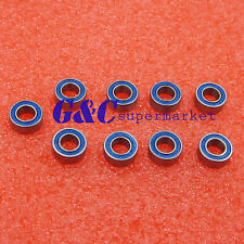 10PCS MR105-2RS Rubber Sealed Ball Bearing 5 x 10 x 4mm Miniature Bearing
