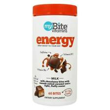 MyBite Vitamins Energy Chocolate Bites - Caffeine Vitamin B12 & B6 07/2020