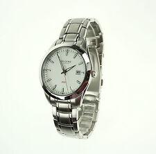REGENT AGS UM1415W Automatik Quartz Kinetic Hybrid Armband Uhr Herren Blatt hell
