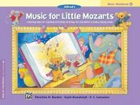 Music for Little Mozarts Music Workbook, Bk 4: Coloring and Ear Training Activit