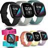 Band für Fitbit Versa 3 / Sense Smart Watch Ersatzarmband Armband Silikon