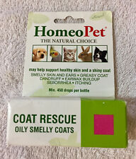 New listing Genuine HomeoPet Coat Rescue Oily Smelly Coats (New damaged box) Free Shipping