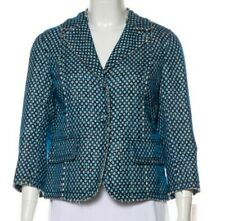 NWT MARC JACOBS SILK OVERLAY WOVEN EVENING COCKTAIL JACKET TOP 8