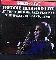 *48hrSALE* Freddie Hubbard Live At The Northsea NM *NICE!* 2LP GF Pablo 2620 113