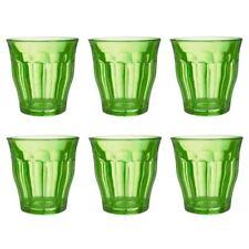 set di bicchieri verdi lavabile in lavastoviglie