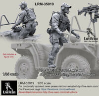 Live Resin 1//35 Boxes to Mount Standing Figures Inside Various HMMWV Turrets