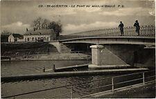 CPA   St-Quentin  -  Le Pont du Moulin-Brulé    (202285)