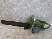 Vintage Sears Gear Drive H-47G Chainsaw Chain Saw Parts or Project