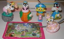 """Komplett Satz """"Baby Looney Tunes"""" 2009 / Girls mit Bpz"""