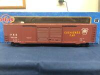 "Atlas ""O"" Pennsylvania Cushioned Car ACF 60' D.D. Auto Parts Boxcar 2-RAIL"