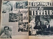 """LE FILM COMPLET 1936 N 1839 """" SOUS LA TERREUR """" MARIE BELL et ROLLA NORMAN"""