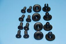 TOYOTA Black Interior Panel Side Skirt Rivet Fender Liner Fastener Trim Clips