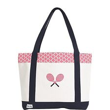 Ame & Lulu Clover Tennis Lovers Tote Bag - Authorized Dealer