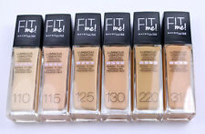 Maybelline Fit Me Liquid Foundation SPF 18 30ml Various Shades 125 Nude Beige
