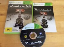 Rocksmith Authentic Guitar Games Xbox 360 Games only