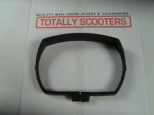 VESPA BLACK Plastic Headlamp Rim for 50 Special V50S (NOS 1980's)
