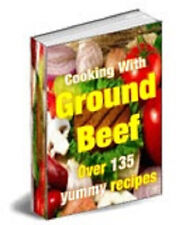 130 Ground Beef Recipes eBook pn CD Rom