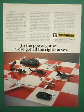 6/1983 PUB TURBOMACH SAN DIEGO TITAN II GEMINI APU GPU SYSTEM ORIGINAL ADVERT