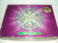 """Who wants to be a Millionaire"" Game 2nd Edition. 2001."