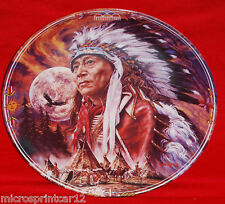 """""""Spirit of the Full Moon"""" 1993 """"Native Sky Collection"""" Plate"""