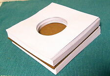 45 rpm paper sleeves white 20# - 100 NEW! Acid free