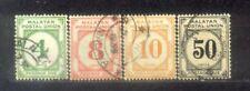 Malaya Malaysia 1936-38 Postage Due. CV Rm 46